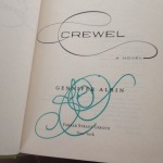 Just a pic of the signature because wow that's a pretty signature. It matches the book.